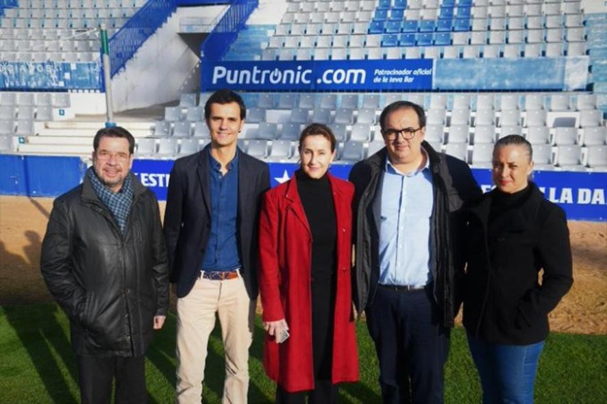 Puntronic firma un contrato de patrocinio con el CE Sabadell.